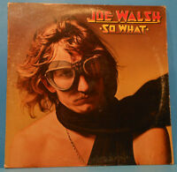 JOE WALSH SO WHAT VINYL LP 1974 ORIGINAL PRESS NICE CONDITION! VG/VG!!A