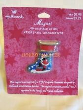 Hallmark Magnet Santa Stocking Christmas in original package