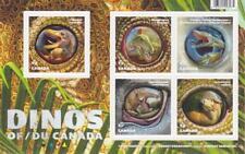 Canada 2016 Souvenir Sheet #2923 - Dinos of Canada (Set of 5) - MNH