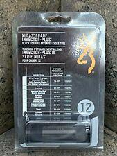 Browning Midas Grade Extended Black Choke Tubes, Invector Plus Cyl 12Ga 1132013