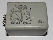 Power Transformer Stelma Inc P 115/230VAC 47-440HZ SEC:50VCT 100mA