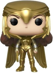 Funko - POP Heroes: Wonder Woman 1984 - Gold Power (Metallic) Brand New In Box