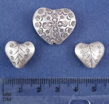 4 Antique Silver Findings (#11) - Total weight 11.5 grams - from Nepal, India