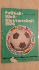 World Cup Home Team Final Football Programmes