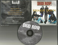 Sebastian Bach SKID ROW Breakin Down w/ DEMO & 2 RARE LIVE TRX UK CD single 1995