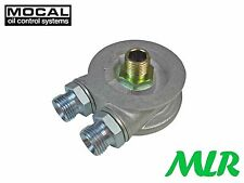 MOCAL SP1 + 5/8 BSP FITTINGS OIL COOLER PLATE CAPRI ESCORT MK1 MK2 COSWORTH SX2