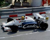 Ayrton Senna Formula One F1 Racing Car 1984 Candy Photo Picture