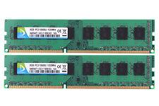 16GB DUOMEIQI 2X 8GB PC3-10600U DDR3 1333MHZ DIMM RAM Memory 240pin CL9 For AMD