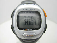 Timex Heart Rate Monitor 30m WR Digital Indiglo Sport 40mm Watch (C245)