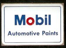 """Mobil Automotive Paints 2"""" x 3"""" Vinyl Sticker"""