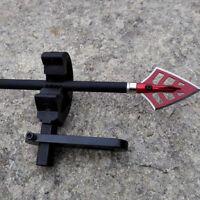 Archery Compound Bow Aluminium Arrow Rest Round Replacement Brush Accessories zc