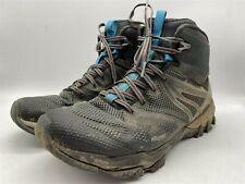 MERRELL MQM FLEX Mid Womens Blue/Black Gore-Tex Walking Hiking Boots UK 8 EU 42