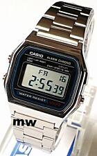 New Casio Retro Vintage Digital Alarm Stopwatch Mens Ladies Watch A158W A158WA-1
