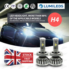 252W 25200LM H4 Hi-Lo Beam PHILIPS LED Headlight Conversion Bulb KIT Replace HID