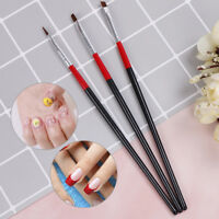3pcs/set acrylic nail art salon pen tips uv gel builder painting style br gvP ly