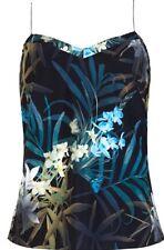 Ted Baker Silk Cynaria Printed Scallop Edge Cami Size S BNWT