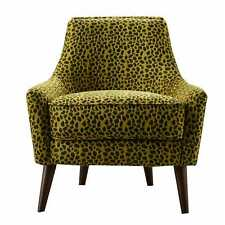 Besp-Oak Furniture Contemporary Stylish Animal Print Fabric Armchair