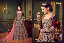 "Indian anarkali salwar kameez suit designer pakistani ethnic wedding dress1""2"