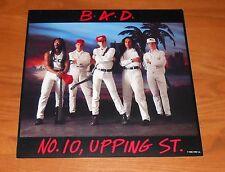 Big Audio Dynamite B.A.D. No. 10 Upping St. Flat Square 1986 Promo Poster 12x12