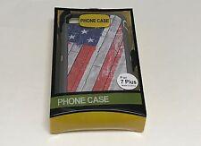 For iPhone 7 Plus USA Flag Camo Case Cover (Belt Clip Fits Otterbox De