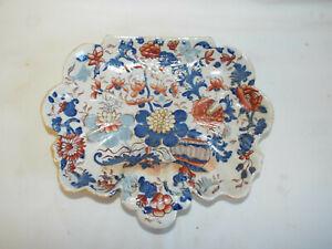 Antique Masons Ironstone dessert plate/dish in Japan pattern,c1820/30