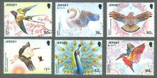 Jersey-Birds & Symbolism-Europa 2019 mnh set
