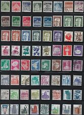 Germany - Nice Collection of 64 Different Stamps.B.# 8D09