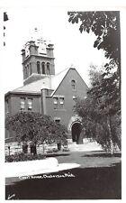 D53/ Cheboygan Michigan Mi RPPC Postcard County Court House c50s    18