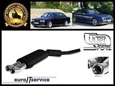 SILENCIEUX POT D'ECHAPPEMENT BMW 5 E34 1990-1992 1993 1994 1995 TIP 2x80 DTM