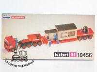 KIBRI 10456 H0 CAMION DAF TRUCKS TRANSPORTE ESPECIAL con CASETA - NUEVO