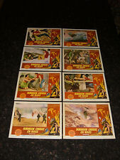 ROBINSON CRUSOE ON MARS Complete Original Lobby Card Set, C7.5 Very Fine Minus