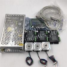 3Axis Stepper Motor Kit Nema17 USB & 5Axis Breakout Board for CNC 3D Printer