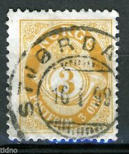Norway 1898-1908, NK 75 Son Stjørdal 16-I-99 (NT)