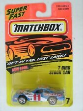 Matchbox Superfast T Bird Stock Car #7 in Blister Pack