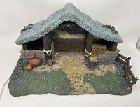 Kinkade Hawthorne Village Star of Hope Creche Nativity Manger only Light include