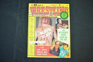 THE BIG BOOK OF WRESTLING - NOVEMBER 1975 - BRUNO SAMMARTINO COVER! (F-VF)