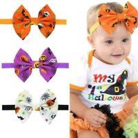 Kinder Mädchen Stirnband Kleinkind Bogen Halloween Haarband Accessoires Hea M0M5