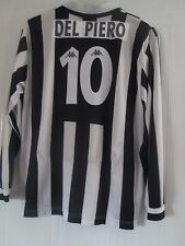 Juventus 1996-1997 Del Piero 10 Home Long Sleeve Football Shirt Size Large 41023