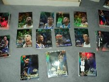 25 CARD MIXED LOT OF 96/97 FLEER FLAIR SHOWCASE BASKETBALL ROW 0 1 2 STARS