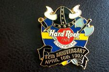 HRC Hard Rock Cafe Stockholm 12th Anniversary Black Helmet LE1500 XL Fotos