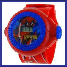 Reloj proyector SPIDERMAN Proyecta una imagen de SPIDER MAN en la pared . A555