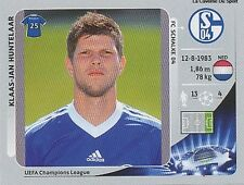 N°118 HUNTELAAR # NETHERLANDS SCHALKE 04  CHAMPIONS LEAGUE 2013 STICKER PANINI