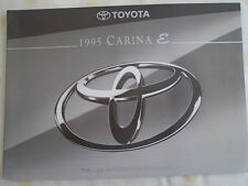 Toyota Carina E brochure Mar 1997