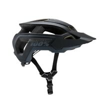 100% Altec MTB Helmet Black Size S/M 56-59CM (New Box Has Some Little Damage)