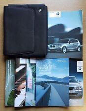 BMW 1 SERIES E81/E87  HANDBOOK OWNERS MANUAL WALLET 2004-2007 PACK D-349