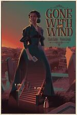 GONE WITH THE WIND Variant limited edition print #145 Laurent DURIEUX 24x36 Mint