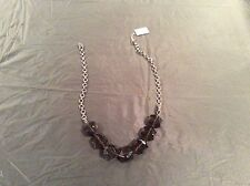 """Lia Sophia Infinitme 18"""" Moss Green Strand for Necklace Large Faceted Glass"""