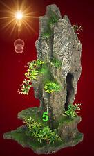 Trixie 8858 Felsen mit Höhle Pflanzen Ornamente Dekoration DEKO 37cm