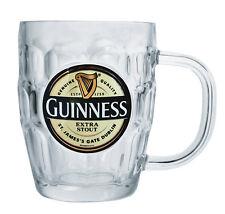 Guinness Label Pint Tankard Glass