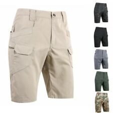 Mens Tactical Shorts Combat Outdoor Trousers Hiking Military Comfort Cargo Pants